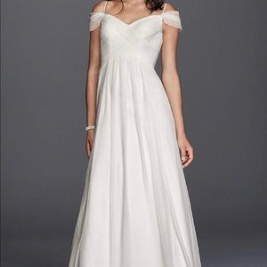 David's bridal Galina gown
